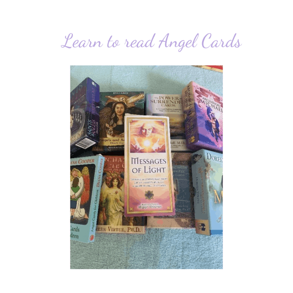 Learn to read Angel Cards